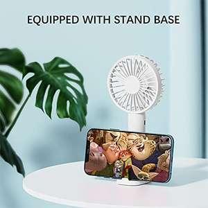 Mini Ventilador con Soporte para Teléfono