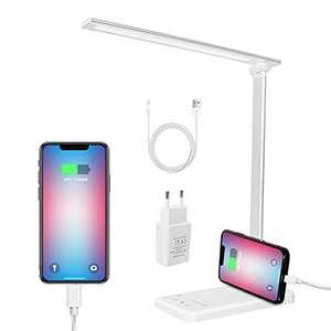Lámpara LED Regulable con Puerto de Carga USB