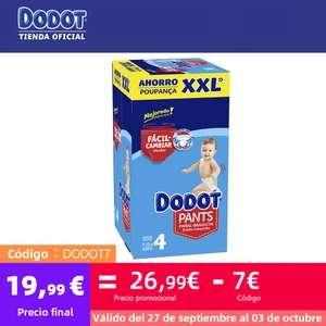 DODOT BOX PANTS XXL - Cupón 7€ + 25% en tallas 4 y 6