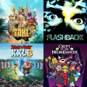STEAM :: Toki, Flashback, Asterix & Obelix, Robin Hood, Garfield Lasagna Bundle, Crypt of the NecroDancer
