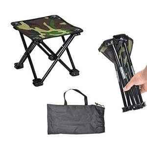 Taburete portátil para camping, excursiones, pesca ...