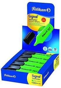 Pelikan - Subrayadores Fluorescentes - Signal - 10 Unidades - Color Verde