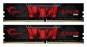 Memoria RAM de 32 GB G.Skill F4-3200C16D-32GIS Aegis - (2 módulos de 16 GB)
