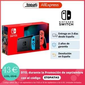 Pack Nintendo Switch Neón V2.