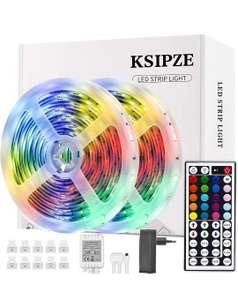 Tiras LED 10m Luces LED RGB con Control Remoto