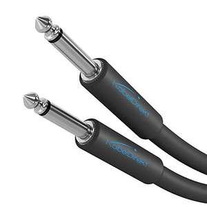 Cable para Guitarra/Bajo de 6,3mm – 5M