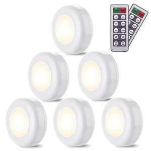 Pack 6 luces auxiliares con 2 mandos desde España
