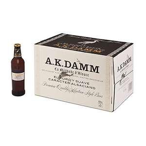 Caja de 24 Botellas 33cl Cerveza Alsaciana A.K. Damm