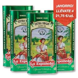 Aceite VIRGEN EXTRA en lata La española