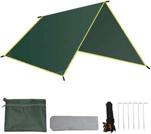 Lona de camping impermeable 240×220cm