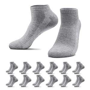 12 pares de calcetines grises de deporte 43-46 (oferta flash)