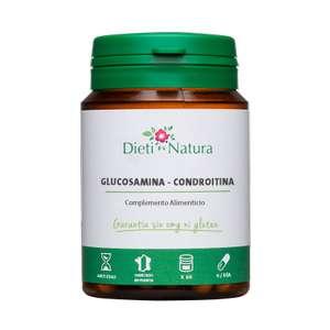 60 Cápsulas Glucosamina - Condroitina