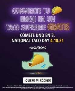 Taco Gratis el 4/10