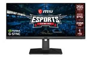 "MSI Optix MAG301RF 29.5"" LED IPS 200Hz G-Sync Compatible"