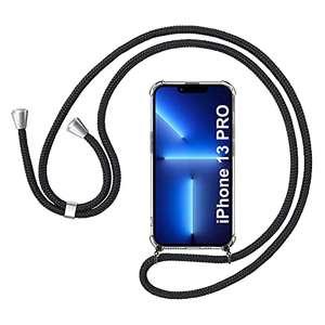 Funda con Cuerda Compatible con iPhone 13 Pro 6.1