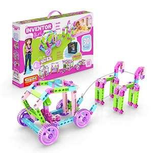 Caja de construcción Inventor Girl 30 modelos motorizados