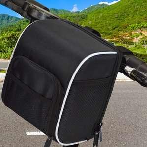 Bolso para Manillar es compatible con todo tipo de bicicletas y patinentes [Otra en Descripción]
