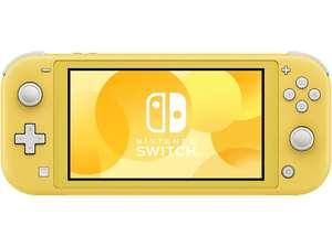 Nintendo Switch Lite Amarillo en Media Markt (eBay)
