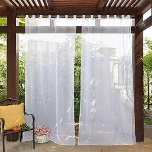 Visillos Blancos Exterior 137 x 243 cm
