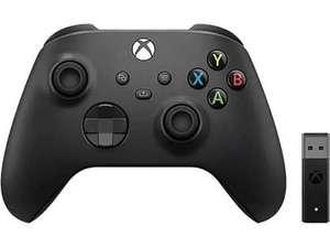 Mando Xbox series X + adaptador wifi PC