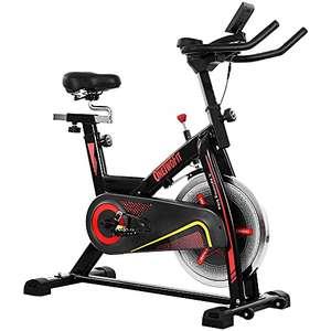 Bicicleta de ciclo silenciosa con transmisión por correa con manillar y asiento ajustables