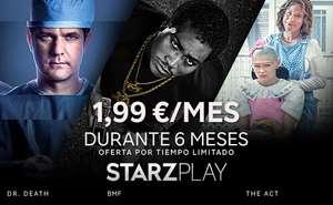 STARZPLAY por 2€/mes durante 6 meses (series y pelis en streaming)