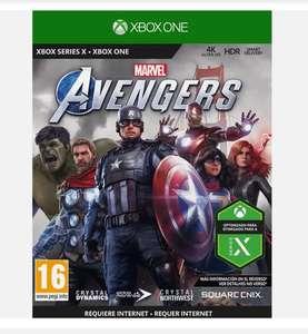 Xbox One Marvel's Avengers vendedor Mediamarkt)