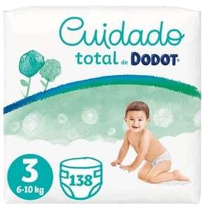 Dodot Pañales Bebé Cuidado Total Talla 3 (6-10 kg)