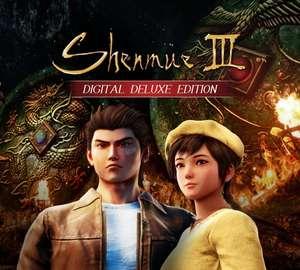 Shennmue III Deluxe Edition pack con todos los DLC