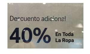 40% de Descuento en toda la Ropa en Asics outlet San Sebastián de los Reyes (Desde hoy hasta el domingo)