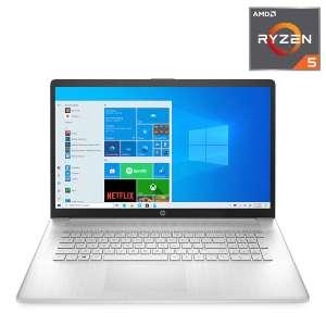 """Portátil HP 17-cp0000ns, FHD 17.3"""" AMD Ryzen 5 5500U, 16GB, 512GB SSD"""