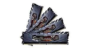G.Skill F4-3200C14Q-64GFX Flare - Memoria RAM de 64 GB (4x16GB) (DIMM, DDR4-3200)