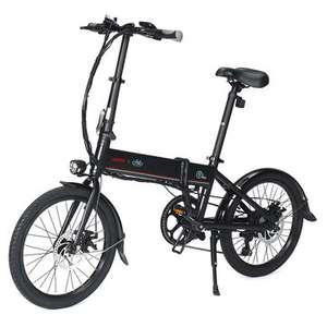 "Bicicleta eléctrica LAOTIE X FIIDO D4s Pro 11.6Ah 36V 250W 20"" plegable 25km / h Velocidad máxima 90KM - Desde Europa"