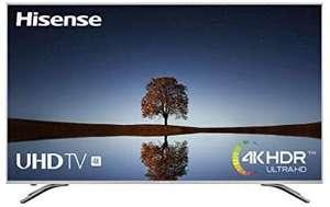 "Hisense H65A6500 Smart TV 4K Ultra HD, HDR, Precision Color, Super Contraste, Remote, WIFI Ethernet USB, 65"", Negro"