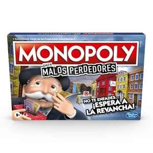 Monopoly para malos perdedores y otros juegos al 50%