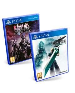 "Final Fantasy VII Remake + Dissidia: Final Fantasy NT + DLC Materia de Invocación ""Patada Chocobo"" PS4"