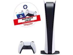 Consola - Sony PS5 Digital + Mando DualSense adicional + 20 Euros PSN