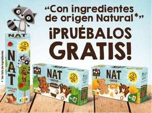 Reembolso Cereales NAT de Nestlé con ingredientes de origen natural GRATIS