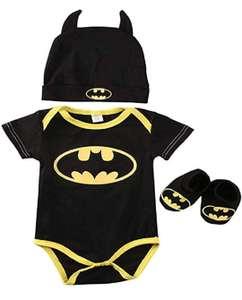Conjunto de bebé Batman (2 modelos y varias tallas disponibles)