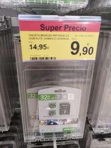 Dos tarjetas micro sd de 32gb (carrefour hospitalet gv2)