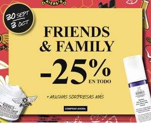 25% en Todo- FRIENDS & FAMILY + Regalo por compras