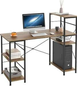 Mesa de escritorio para ordenador con 5 estantes