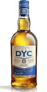 700ml Whisky Dyc 8 Años a 9,50€. También la de 1L a 13,15€ o la Single Malt 70cl a 12,39€