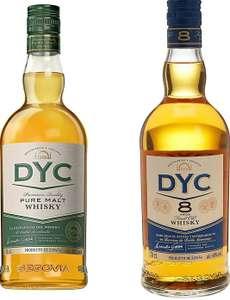 Pack Whisky DYC 8 años 700ml + DYC Pure Malt 700ml estuchado