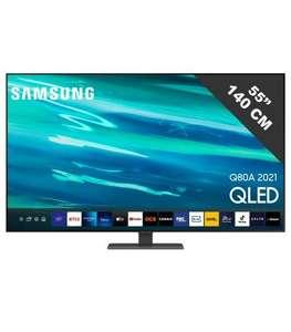 TV QLED SAMSUNG QE55Q80A FALD 4K@120Hz, HDMI 2.1