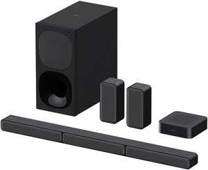 Sony HT-S40R - Barra de Sonido 5.1 (Sistema de Cine en Casa, Altavoces Traseros Inalámbricos, 600 W, Dolby Digital, Bluetooth, Sonido