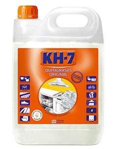 5L Quitagrasas KH-7 - Máxima Eficacia Sin Esfuerzo para Todo Tipo de Superficies y Tejidos, Apto para Superficies Alimentarias- 5000 ml