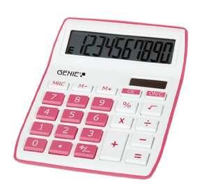 Calculadora Genie 840 P Rosa