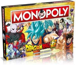 Monopoly Dragon Ball Super - Juego de Mesa