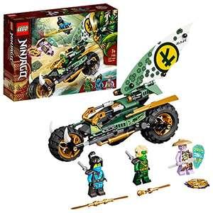 LEGO 71745 Ninjago Chopper de la Jungla de Lloyd - Juguete de construcción con una Moto y Mini Figuras de Lloyd y NYA
